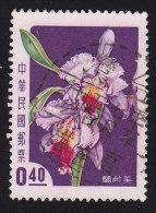 CHINA REPUBLIC (Taiwan) - Scott #1190 Laelia Cattleya (*) / Used Stamp - 1945-... Republiek China