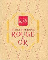 Publicité Bibliothèque Rouge Et Or - Calendrier 1956 - Fascicule 12 Pages: Présentation Et Références De La Collection - Calendriers