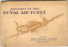 """Livret D'images """"ROYALE AIR FORCE"""" Angleterre 2°GM Issued By JOHN PLAYER & SONS - 1939-45"""