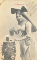 Les Boissons - N°2 La Bière (Alsacienne) - Phototypie A. Bergeret - Carte Précurseur - Autres