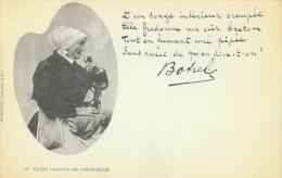 Vieille Paysanne Des Cornouailles - Femme à La Pipe - Poème De Théodore Botrel - Collection E.H., Carte Précurseur - Europe