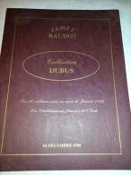 Les 20 Centimes Noirs De Janvier 1849, Philatélie, Timbres, Catalogue De La V. De La Collection DUBUS En Dec. 1998 - Catalogues For Auction Houses