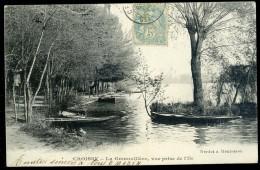 Cpa Du 78 Croissy La Grenouillère  -- Vue Prise De L' Ile    FRM 6 - Croissy-sur-Seine