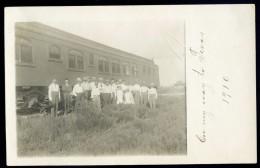 Rare Cpa Carte Photo Usa états Unis --  On My Way To Texas En 1910 Train Wagon FRM 7 - Non Classés