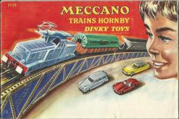 Catalogue Meccano 1958 - Train �lectrique Hornby - Dinky Toys...
