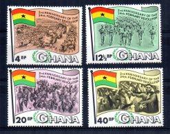 Ghana - 1968  - 2nd Anniversary Of February Revolution - MNH - Ghana (1957-...)