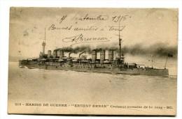 CPA Bateau :  Croiseur  ERNEST RENAN   1916       VOIR   Descriptif   §§§ - Guerra