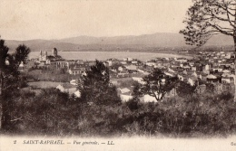 VAR 83 SAINT RAPHAËL VUE GENERALE 1915 - Saint-Raphaël