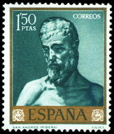ESPAÑA SEGUNDO CENTENARIO NUEVO Nº 1503 ** RIVERA - 1961-70 Neufs