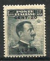 1926 LIPSO  Cent 20 Su 15  N. 8   1v Sc  Nuovo * MLH - Egeo (Lipso)