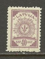 LETTLAND Latvia 1920 Michel 48 MNH - Lettonie