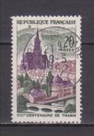 FRANCE / 1961 / Y&T N° 1308 : Thann - Choisi - Cachet Rond (28/05/1962) - France