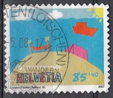 Svizzera, 2007 - 85 + 40c Camping - Nr.B711 Usato° - Switzerland