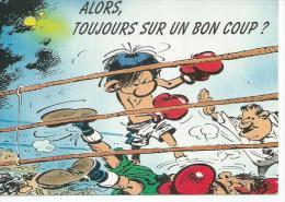 N° 136 - LAGAFFE -  ALORS, TOUJOURS SUR UN BON COUP ?  ( Déssin : FRANQUIN  ) - Illustrateurs & Photographes