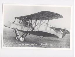 "Aeroplane - Avion - Vliegtuig - Flugzeug -  The ""de Havilland"" Or Air-co  - Aviation  Photo - Luchtvaart"