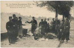 Guerre 14 WWI Zouaves Au Front Nord Popotte Cuisine Edit J.M.T. - Oorlog 1914-18