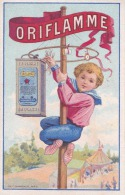 Calendrier 1er Semestre 1899 : Chromo Publicité Oriflamme - Calendars