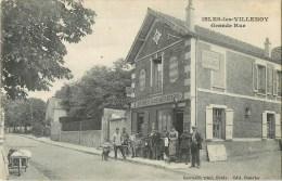 77 - Isles-les-Villenoy -  ** Restaurant BOUVIER - Animé ** - Cpa En Bon état . - Non Classés