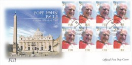 Fiji 2005 Pope John Paul   FDC - Fiji (1970-...)