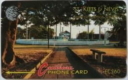 ST KITTS & NEVIS - GPT - $60 - 6CSKB - Low No. 5 - Mint - St. Kitts & Nevis