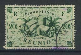 """VEND TIMBRE DE LA REUNION N° 246 , CACHET """"POINTE DES GALETS"""" !!!! - Reunion Island (1852-1975)"""