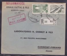 Liban - Lettre - Liban