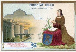 CHROMO CHOCOLAT IBLED CHATEAU DE NANTES ( LOT F13 ) - Autres