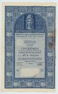 PRESTITO NAZIONALE DEBITO PUBBLICO DELLO STAO ITALIANO AL 3.50 % 1968 - Banque & Assurance