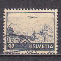 PGL - SWITZERLAND AIRMAIL Yv N°28 - Poste Aérienne