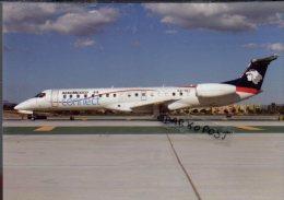 Aerei Embraer E145LU Air Aeromexico Connect Airlines Aereo  Avion ERJ 145 Aircraft Aviation ERJ145 - 1946-....: Moderne