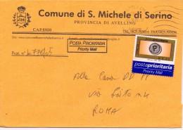 S.MICHELE DI SERINO - 83020 - PROV. AVELLINO - PP - 2005 - FTO 12X17 - TEMATICA TOPIC STORIA COMUNI D´ITALIA - Affrancature Meccaniche Rosse (EMA)