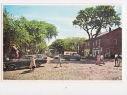Main Street , NANTUCKET Island , Massachusetts - Old Car Cars - Nantucket