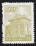 CHINA REPUBLIC (Taiwan) - Scott #1218A Chu Kwang Tower (*) / Used Stamp - 1945-... Republiek China