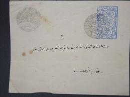 TURQUIE - Empire OTTOMAN 1913 - Pays Détaché THRACE - Entier Postal Trés Rare Voyagé - N°6900 - 1858-1921 Empire Ottoman