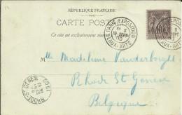 FRANCIA TP CON MAT PARIS EXPOSITION 1900 MAT BEAUX ARTS - 1900 – Paris (France)