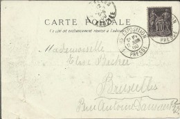 FRANCIA TP CON MAT PARIS EXPOSITION 1900 MAT PRESSE - 1900 – Paris (Frankreich)