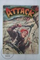 French 1961 Bimensuel Comic - ATTACK Nº 18 - By Imperia And Cº - Libros, Revistas, Cómics