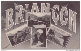 16 BRIANCON MULTIBLE VUES.CPA TRES BON ETAT - Briancon