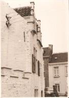 SINT AMANDS AAN DE SCHELDE (2890) - LITTERATURE / VERHAEREN : GASTHOF DE VEERMAN. Zeer Rare Fotokaart. - Sint-Amands