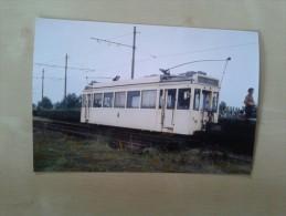 Wolvertem Meise Gekleurde Prachtfoto Van Het Einde Van De Tram Londerzeel-Brussel Noord In De Tramstatie Van Wolvertem - Meise