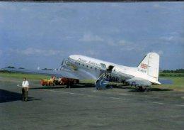 Derby Airways DC3 Airlines DC 3 Aereo Avion DC-3 Aircraft Aviation Burnaston Airport - 1946-....: Moderne