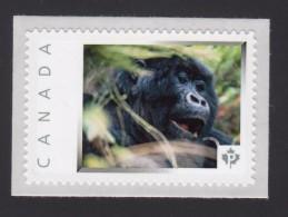 GORILLA, MONKEY, Picture Postage Mint, Unused Stamp, Canada  2014 [p6sn10] - Gorillas