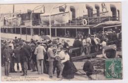 Dieppe Embarquement Des Passages Pour L'Angleterre - Dieppe