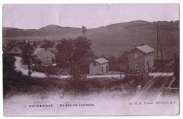 Rochefort (2) Vallée De Jemelle Brevet L D F Passage à Niveau Pour Train - Rochefort