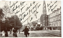 POST CARD ENGLAND LONDON SEVEN SISTERS ROAD FINSBURY PARK - Other