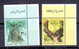 2003 Palestinian Blessing Tree  Complete Set 2 Values MNH  (Or Best Offer) - Palestine