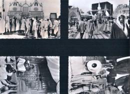 La Mecque - Kaaba- Zem Zem- LA MECQUE La Porte D'entrée Et La Pierre Noire.( Série Complète-1-2-3-4) - Arabie Saoudite