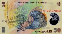 ROMANIA P. 120 50 L 2008 UNC - Rumania
