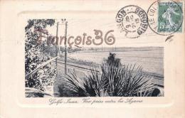 (06) Golfe Juan - Vue Prise Entre Les Agaves - 2 SCANS - Autres Communes