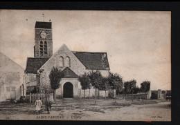 77, SAINT FARGEAU, L´EGLISE, 2 SCANS - Saint Fargeau Ponthierry
